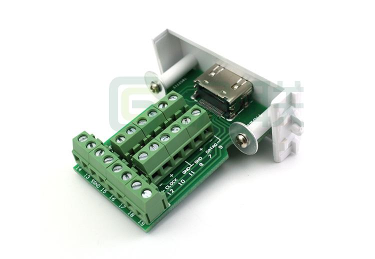 HDMI卡线模块