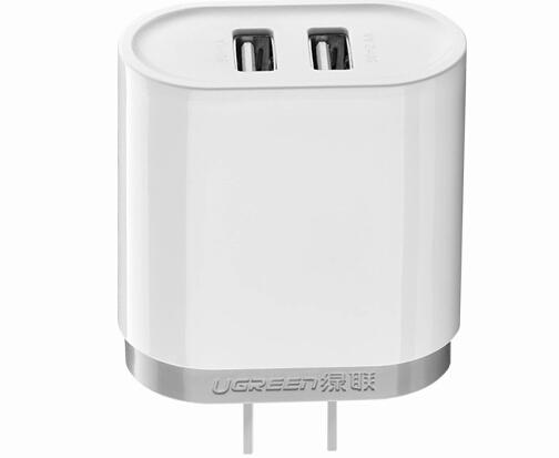 2口usb充电器3.4A