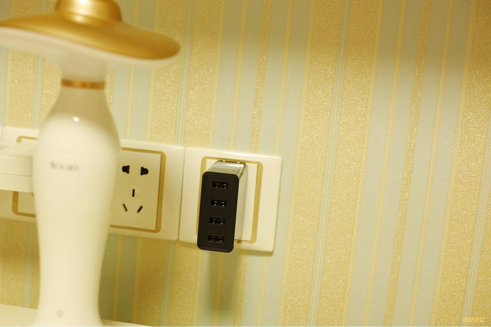 4口充电器,绿联4口电源适配器