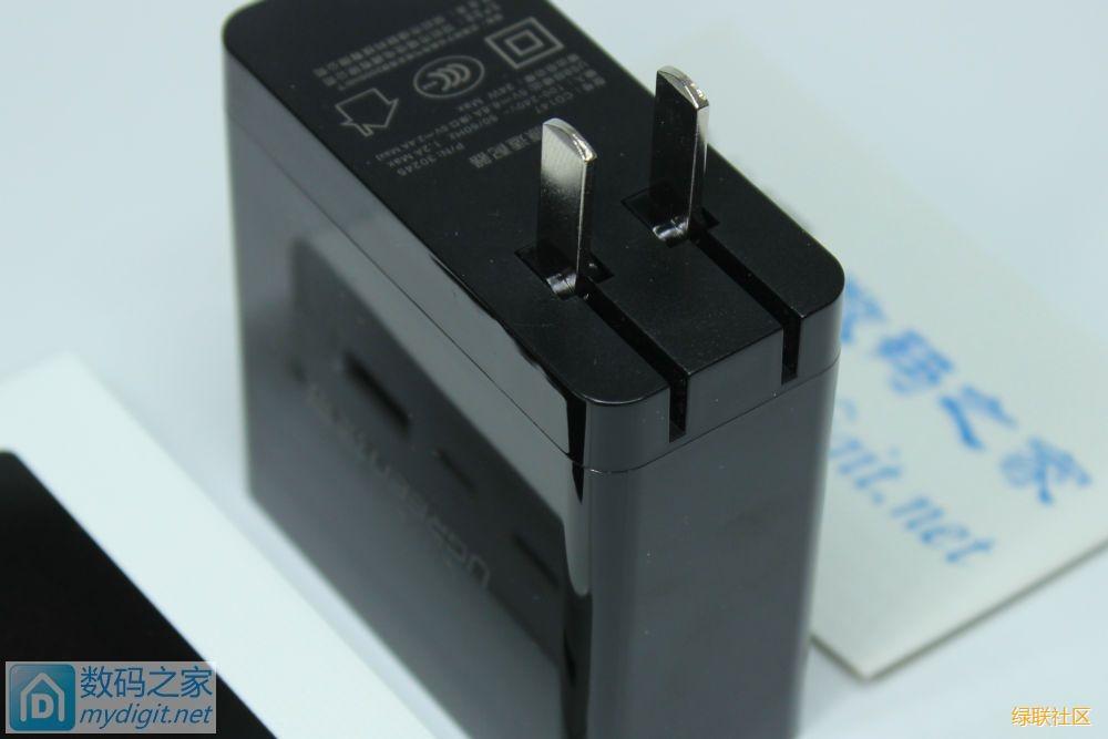小身材大能量-绿联四口充电器CD147评测拆解