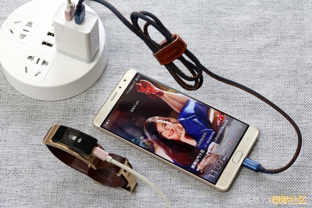 旅行充电套装,双口充电头+牛仔数据线