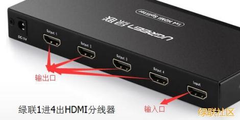 HDMI切换器和HDMI分线器的区别