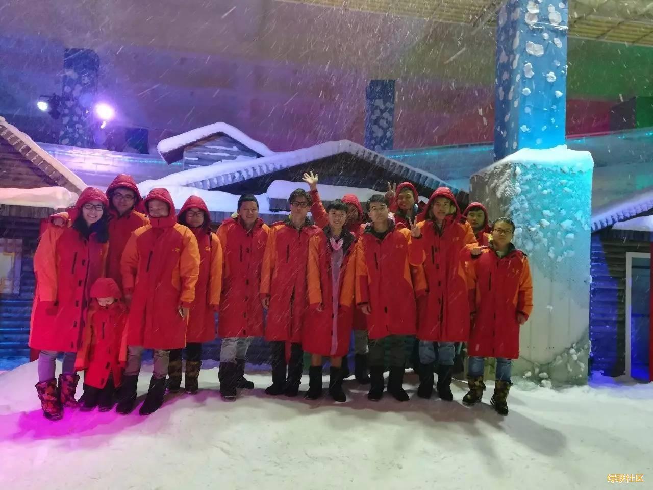 2017绿联长津冰雪世界之旅