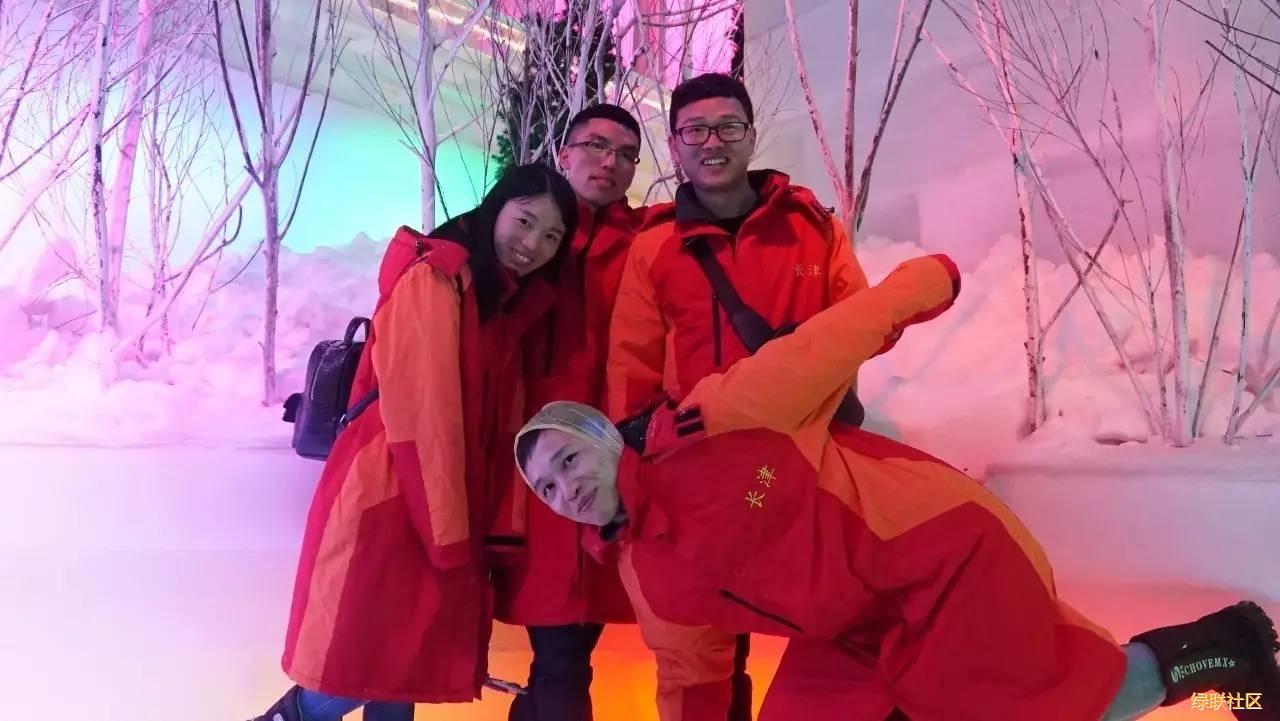 2017绿联长津冰雪世界剪影