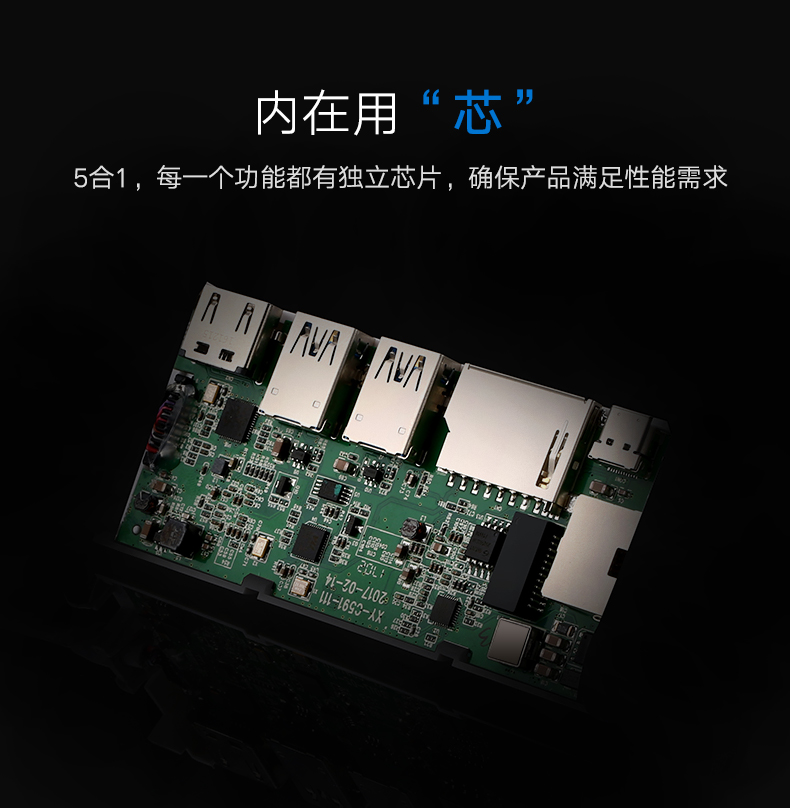绿联type-c扩展坞,苹果小米华硕笔记本扩展坞