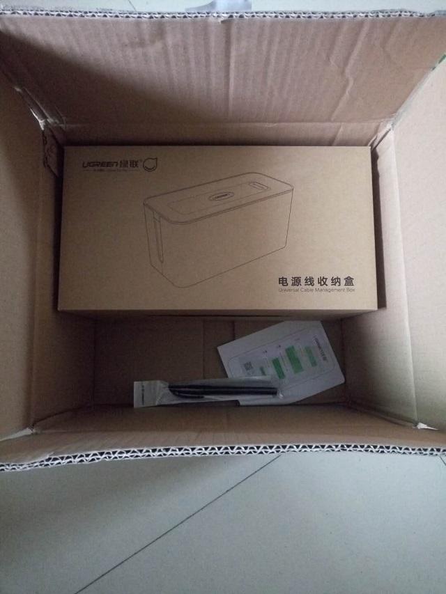 绿联排插收纳盒试用体验
