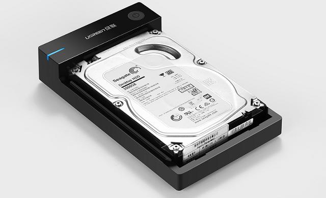 8TB硬盘轻松读取,绿联2.5/3.5英寸SATA硬盘盒新锐登场!
