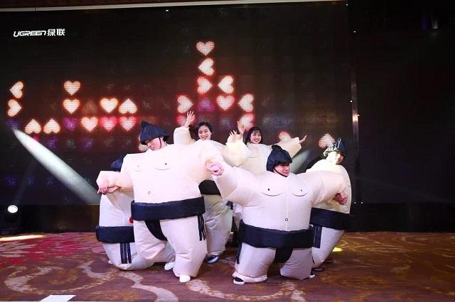 绿联2018年会盛典舞蹈小跳蛙