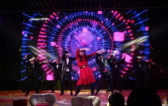 绿联2018年会盛典舞蹈朱碧石