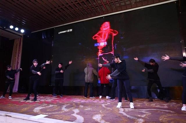 绿联2018年会盛典五环之歌