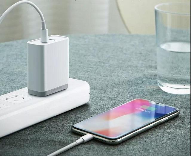 比7.5W无线充电快太多,PD快充充iPhoneX可达18W