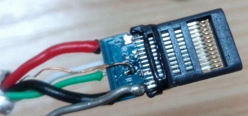 USB Type C接头拆解图