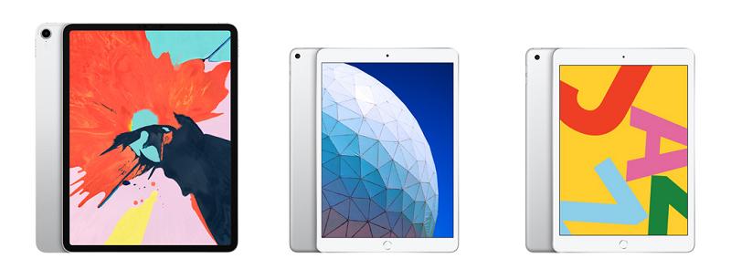 2019四款全新ipad/mini/air/pro充电接口和充电速度对比